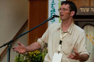 Rob Hopkins op de Transitie Conferentie 2011 in Deventer